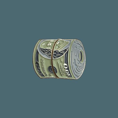 Money Roll 1u2033 Wide Enamel On Silver Nickel Limited To 100