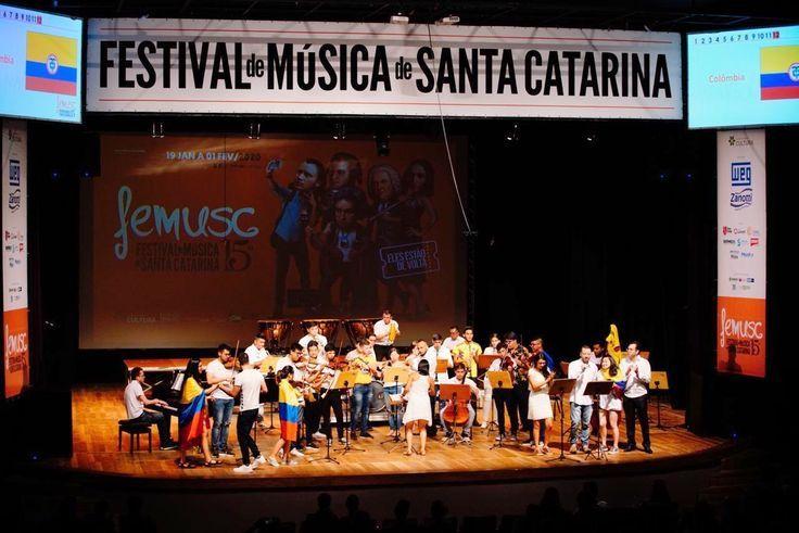 Festival de Música de Santa Catarina femusc em jaragua do sul - rk motors