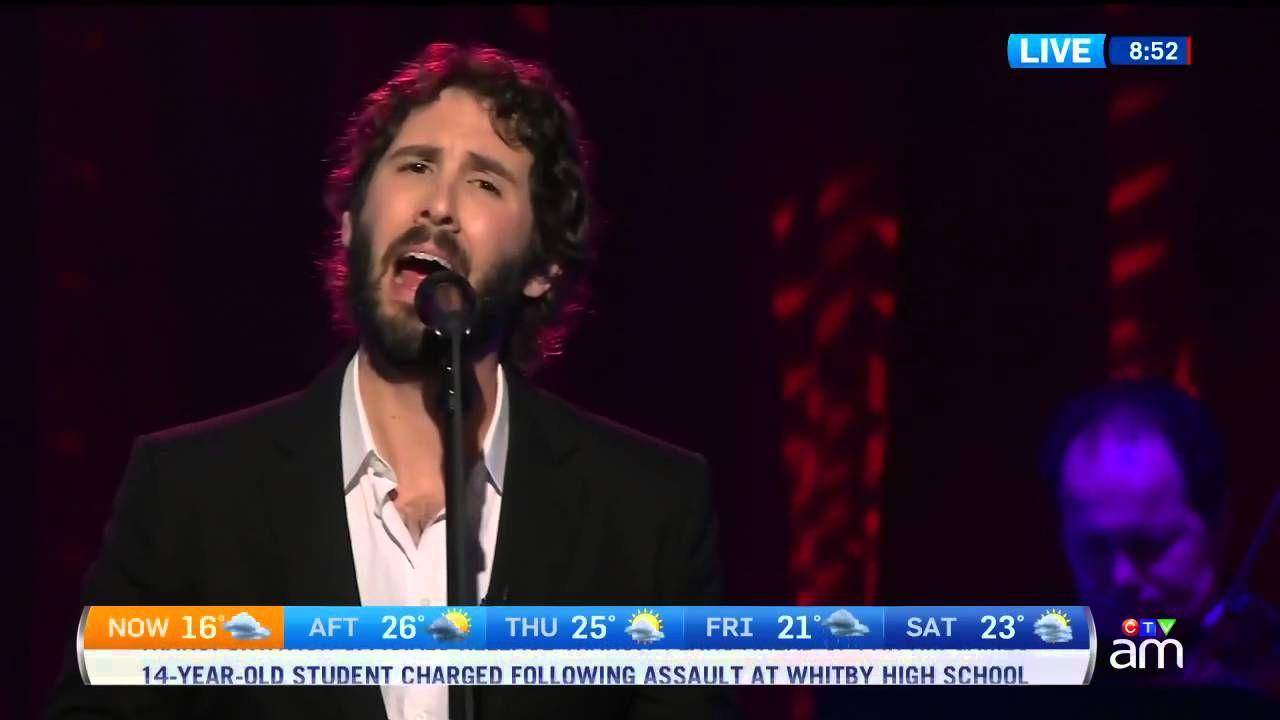 Canada AM: Josh Groban performs, part 2