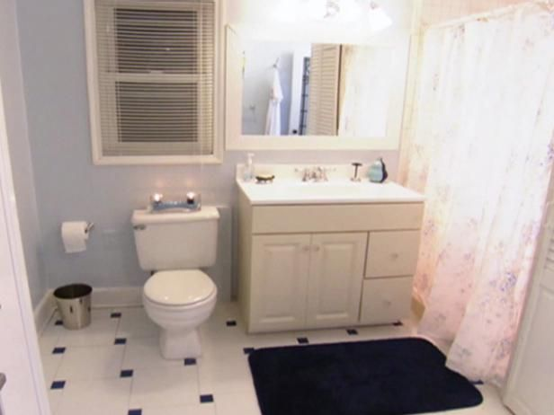 Change the look of a bathroom by tiling the floor  Find out what     Change the look of a bathroom by tiling the floor  Find out what materials  are needed to tile a bathroom floor and follow these step by step instru