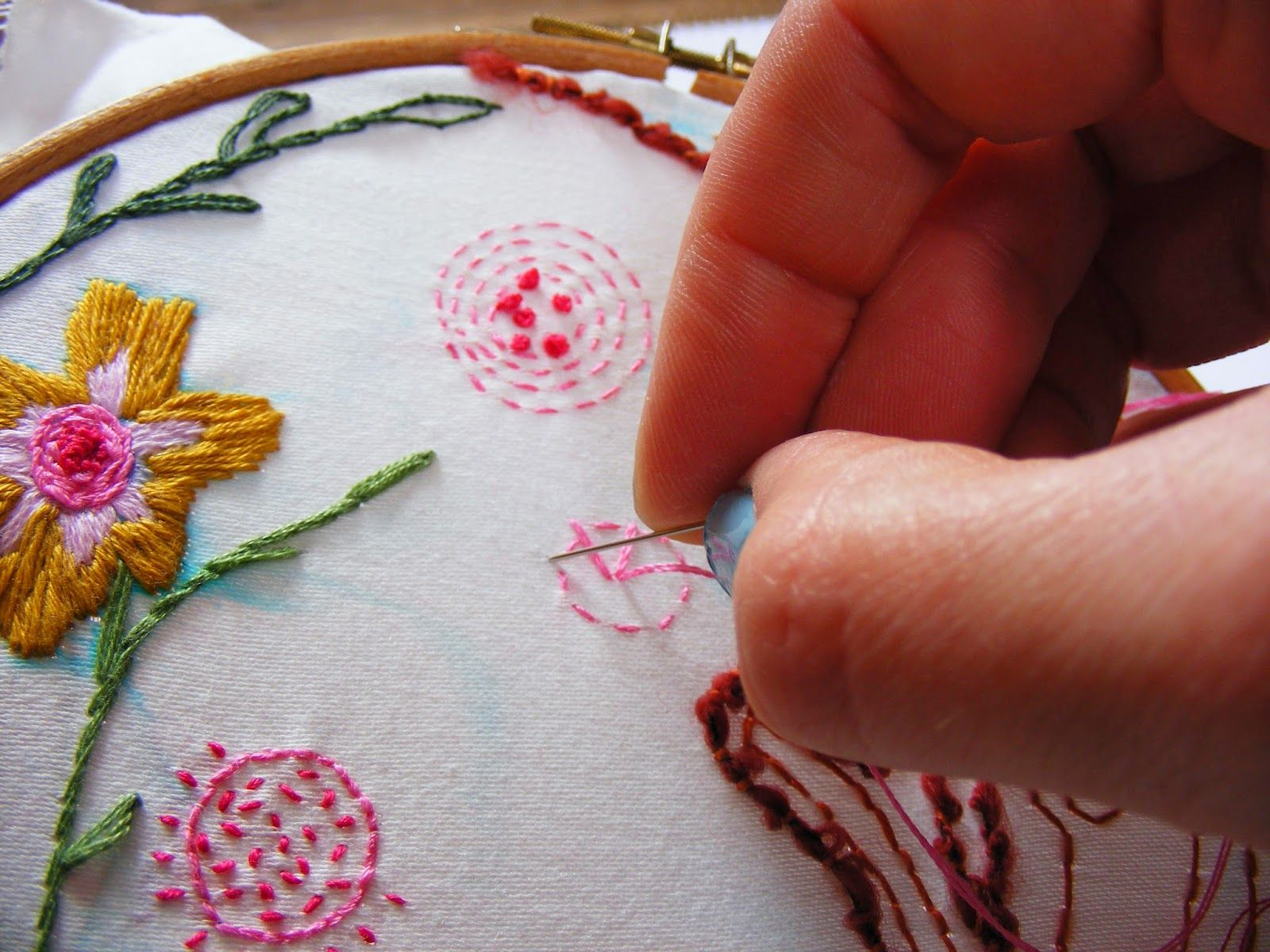 Nice website for stitchery techniques by Jenny Blair