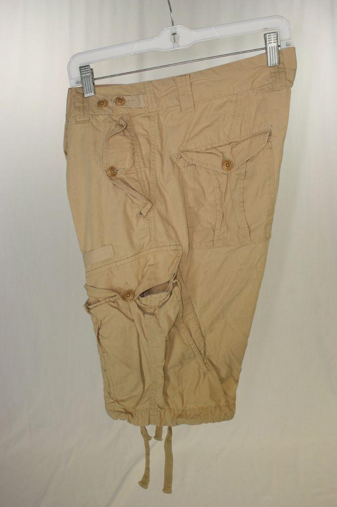 Diesel Tan Cargo Shorts Button Fly (Men's 33) 2199 #DIESEL #Cargo