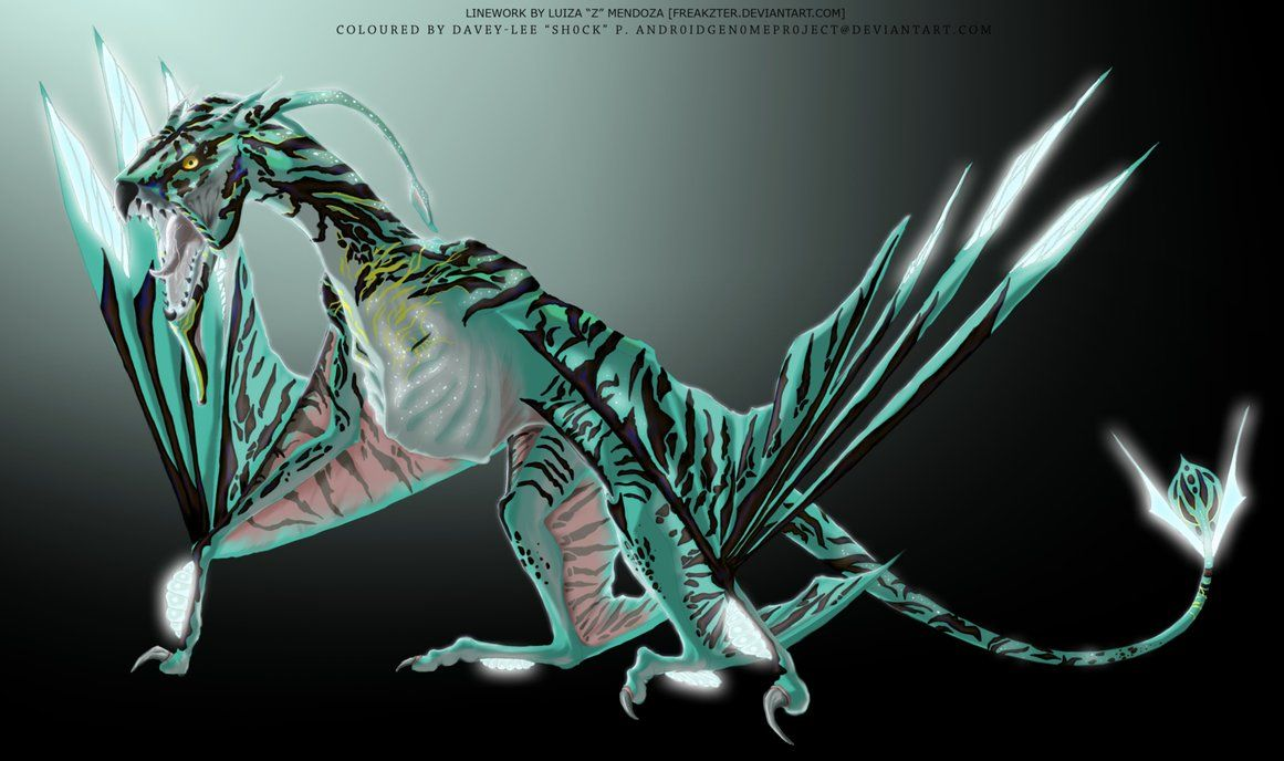 "toruk the great leonopteryx from the avatar movie. <3 neytiri: ""it"