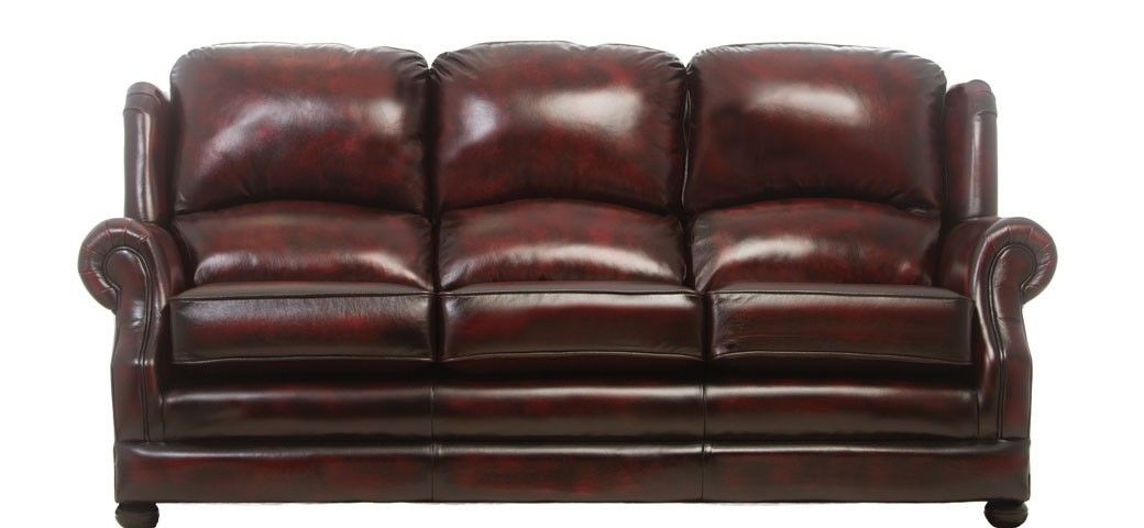 Marlow 3 Seater Leather Sofa | Traditional Sofas | Pinterest ...