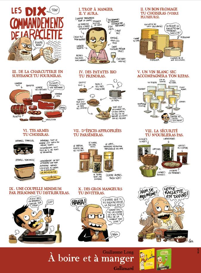Table la raclette lire - La table a raclette ...