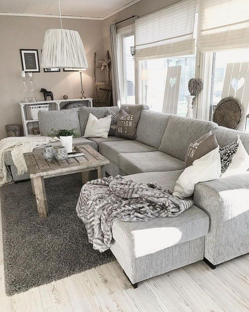 ✔ 61 cozy modern farmhouse living room decor ideas 35 images