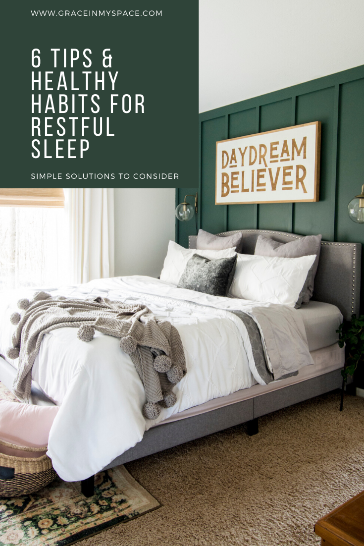 Simple Tips and Healthy Habits for Restful Sleep ...