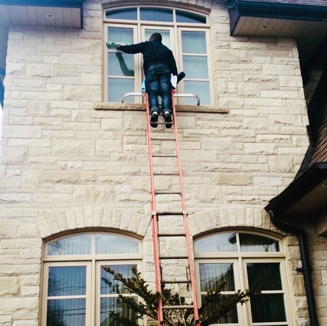 Spring Is Finally Here Yesterday We Got Started On Our First Clean Of The Season Window Cleaning Services Cleaning Service Window Cleaner