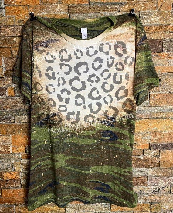 Camo Leopard Shirt