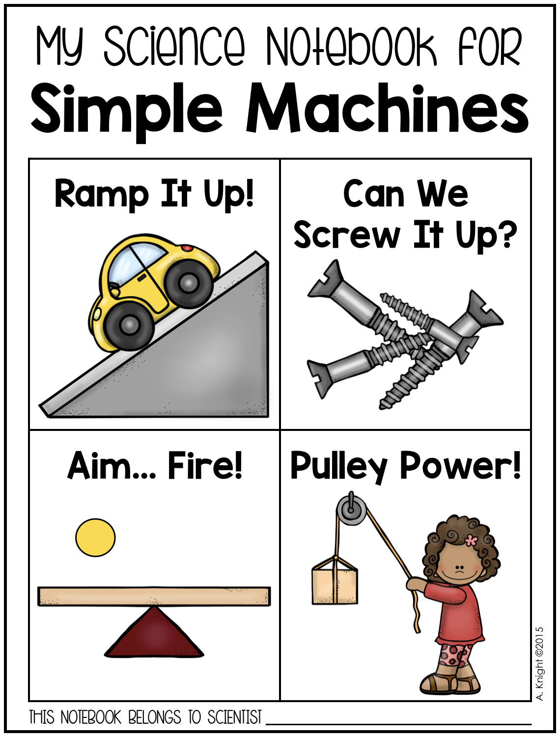 Simple Machines Engaging Materials For Elementary