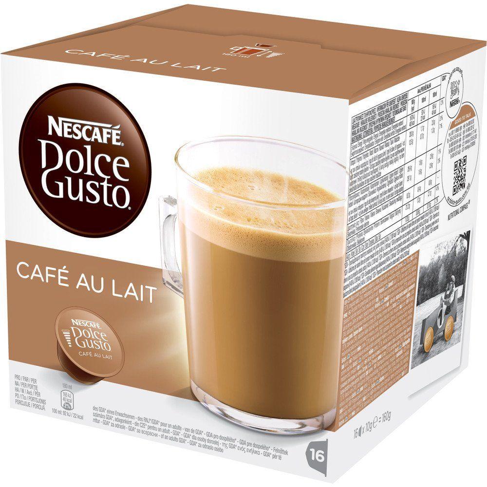 Nescafe Dolce Gusto Cafe AU Lait Dolce gusto, Nescafe