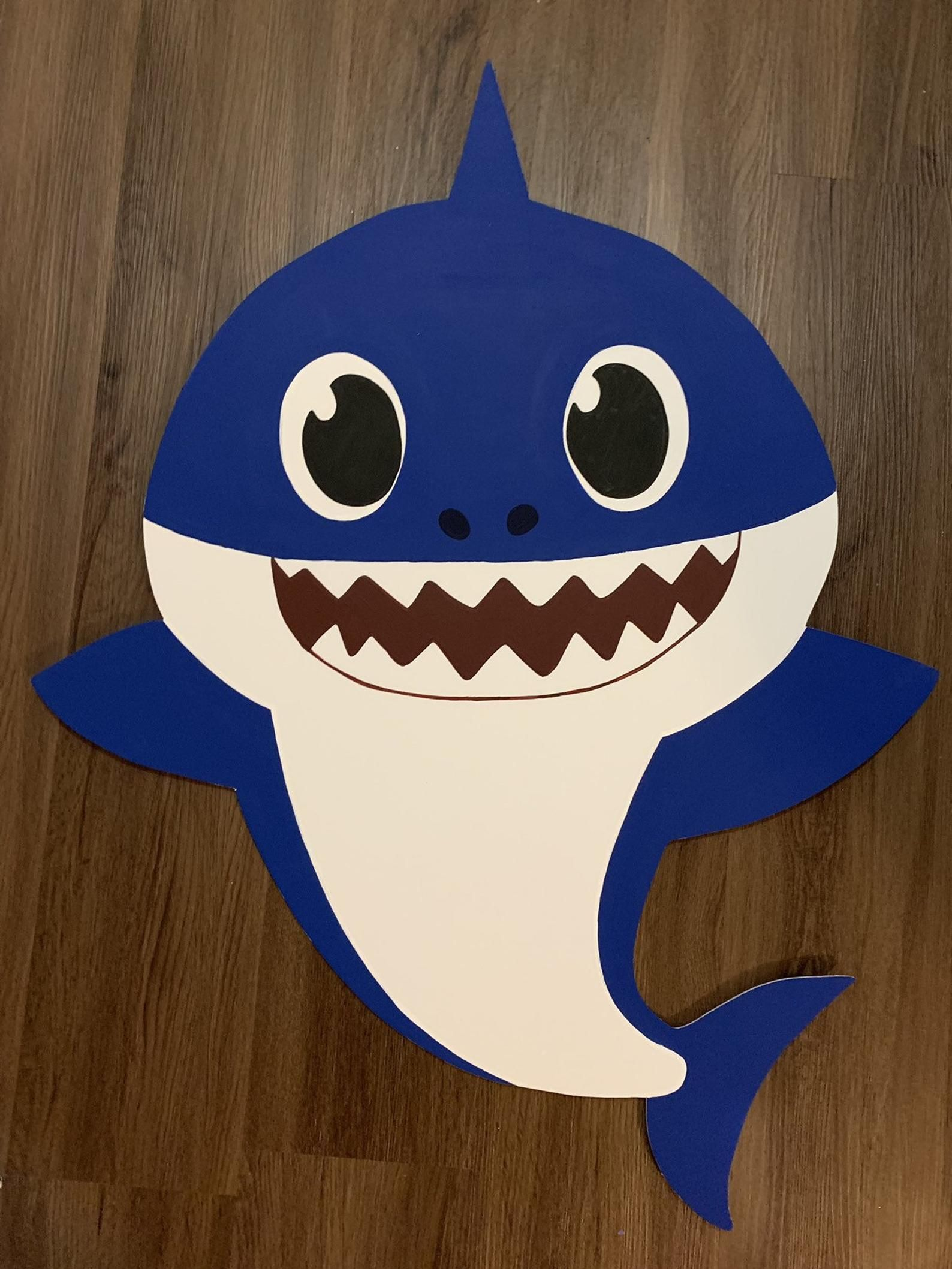 1 Shark or family member cutout/prop Etsy in 2020