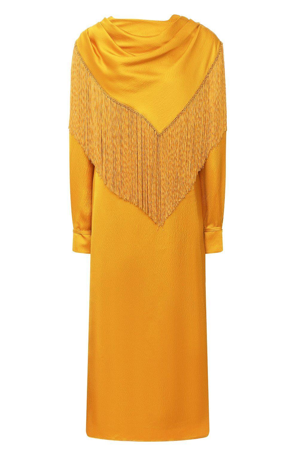 Женское оранжевое шелковое платье GABRIELA HEARST — купить за 321500 руб. в  интернет-магазине ЦУМ, арт. 120409 S030 в 2020 г | Платья, Одежда, Шёлк
