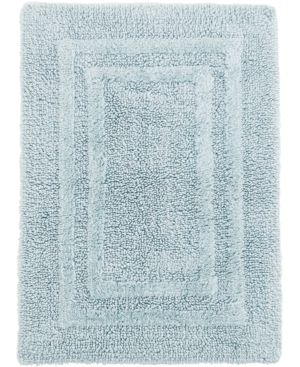 Hotel Collection Cotton Reversible 21 X 33 Bath Rug White