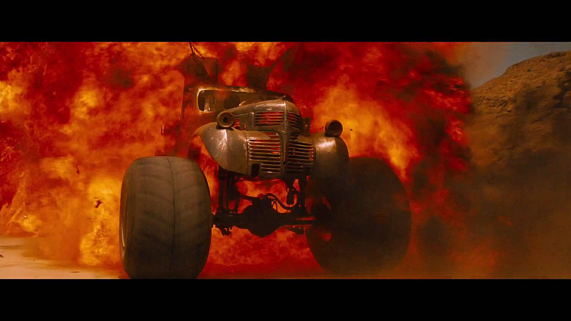 Mad Max Fury Road Monster Truck Explosion 2 | Monster Trucks | Pinterest