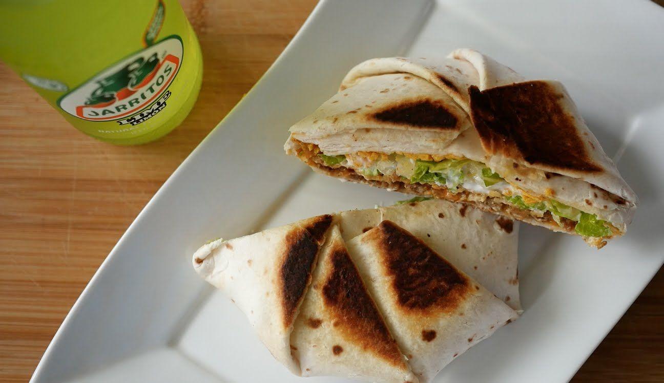 Diy vegan crunch wrap supreme taco bell style vegan