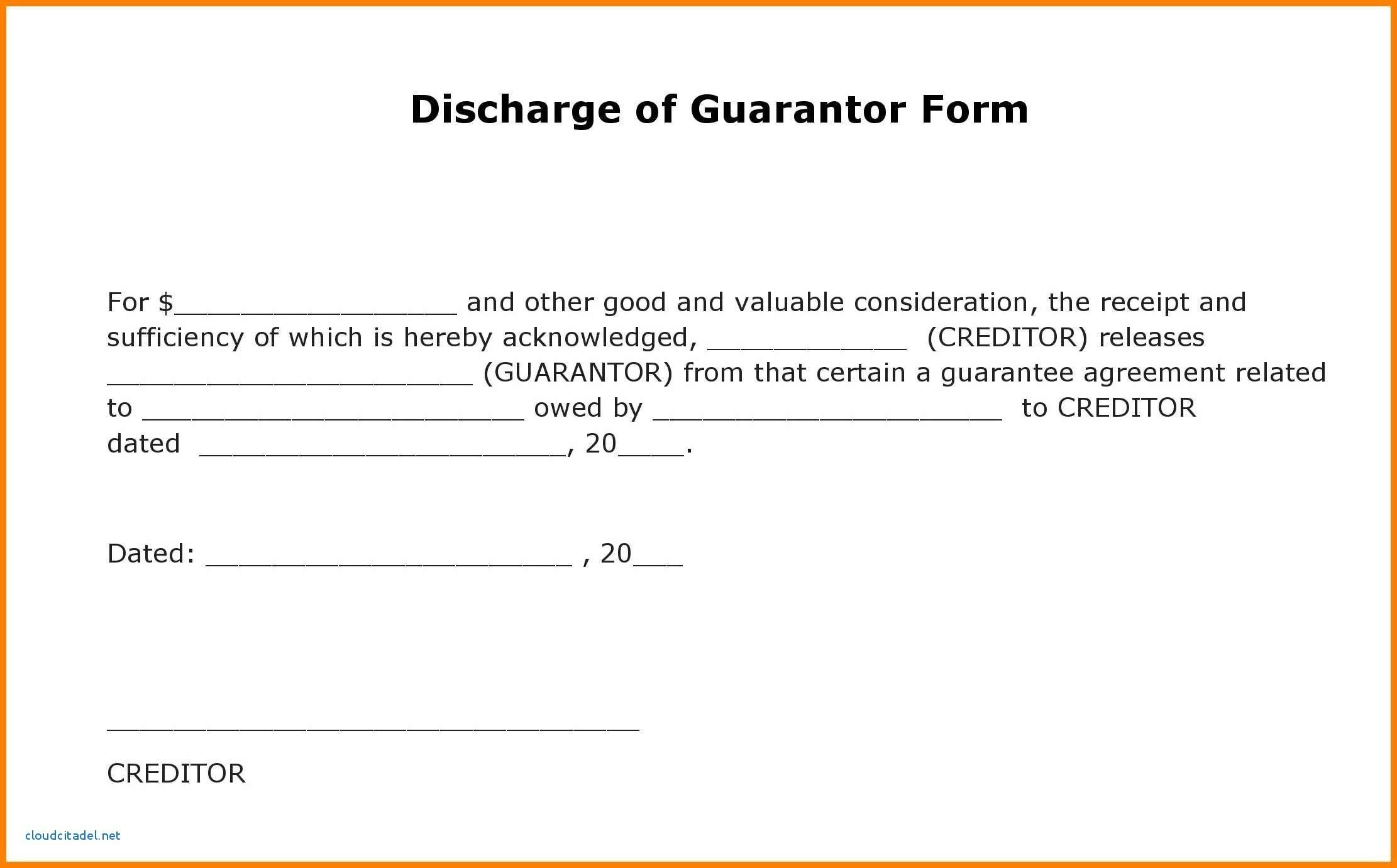 Best Refrence New Sample Of Guarantor Letter For Employee By