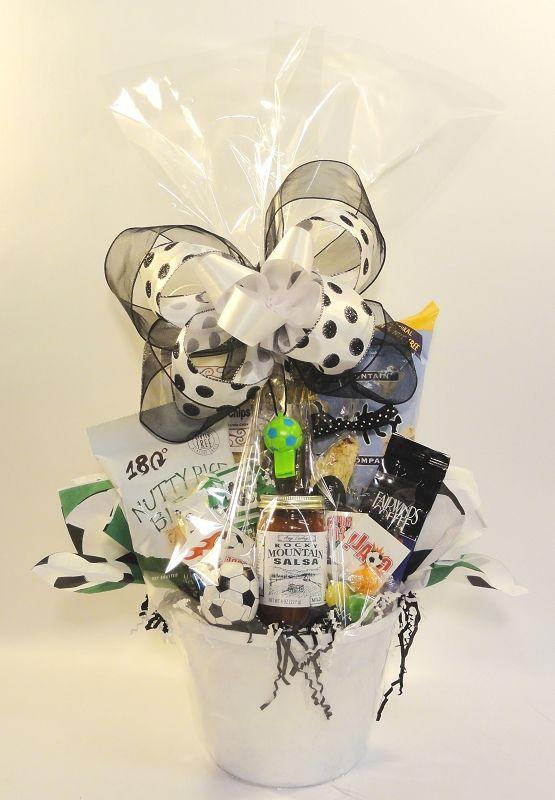 Soccer Gift Basket Soccer Gifts Soccer Easter Basket Gift Baskets
