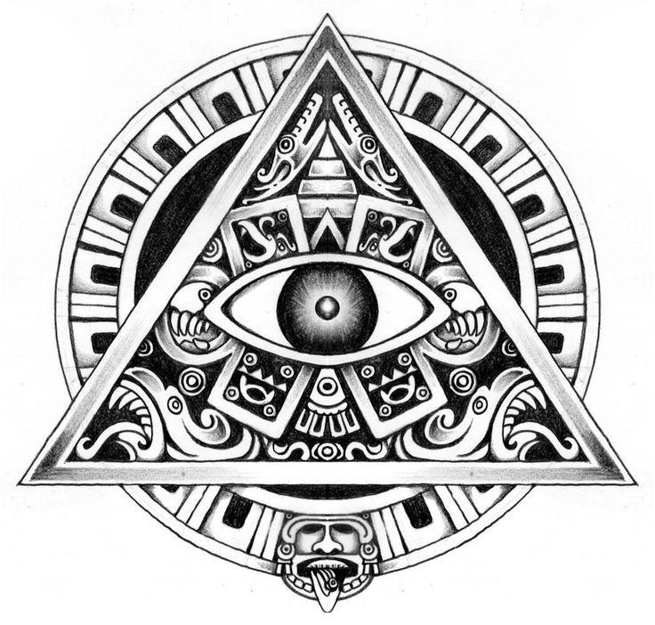 Symbolic Mayan Tattoo Designs