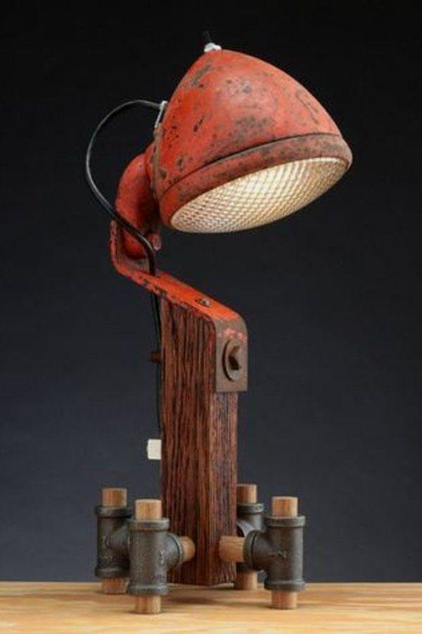 Interesting Industrial Lighting Ideas - #Ideas #Industrial #Interesting #lighting #vintageindustrialfurniture