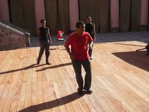 kimba fa!!!!!!!! su gentehaciendo un contrapunto de zapateo libre!!! - YouTube