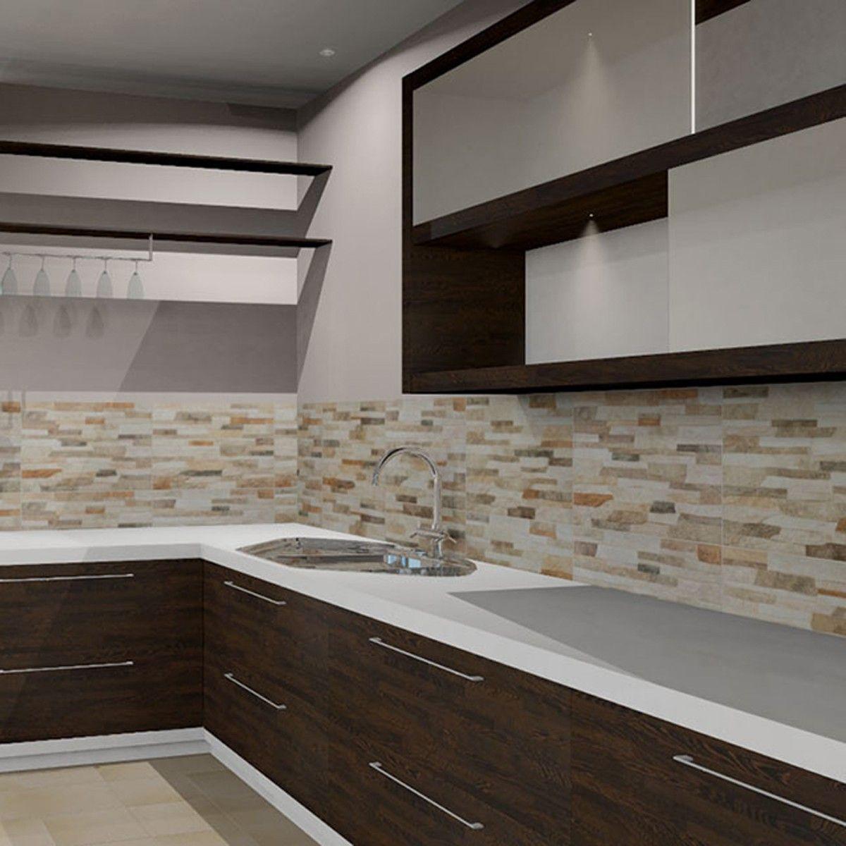 45x15 Valbona Beige - Wall Tiles - Tile Choice | Kitchen Wall Tiles ...