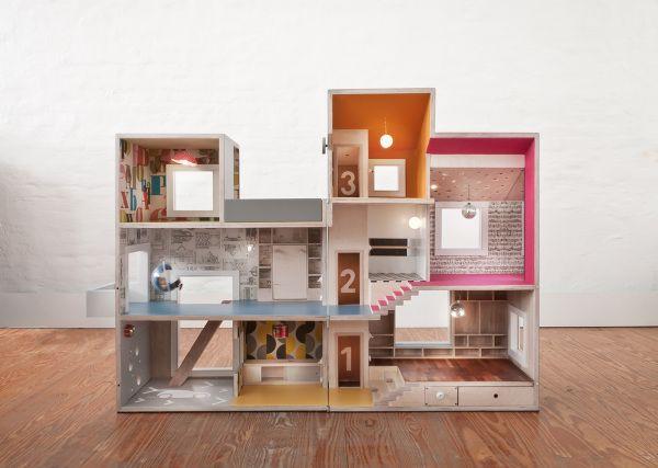 puppenhaus 6 milas haus modernes puppenhaus arch. Black Bedroom Furniture Sets. Home Design Ideas