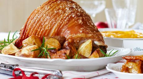 Its time to celebrate a traditional christmas pork leg roast is try this pork leg roast with mustard pears recipe by chef lifestyle food forumfinder Choice Image