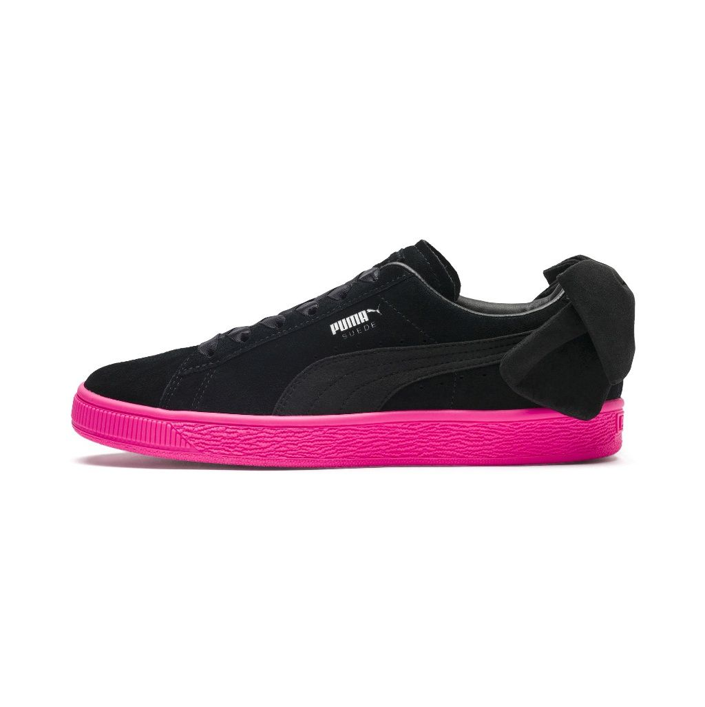 Womens sneakers, Suede bow, Puma casual