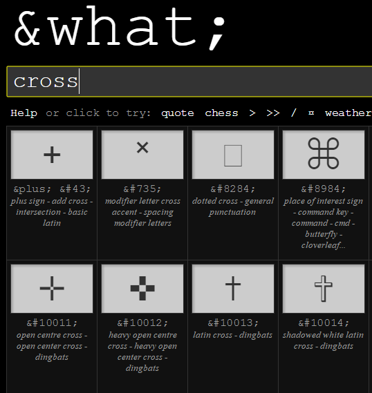 Amp What Is A Quick Interactive Reference Of 14500 Html Character