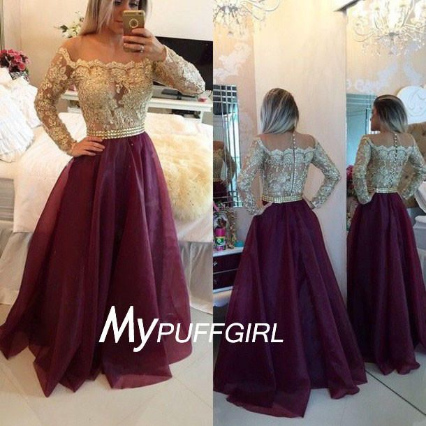 wine red prom dress - Pesquisa Google