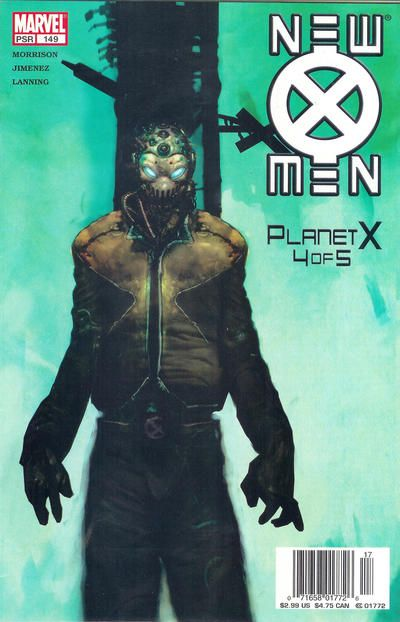 New X Men 149 By Christopher Shy Xorn Marvel Comic Book Covers X Men