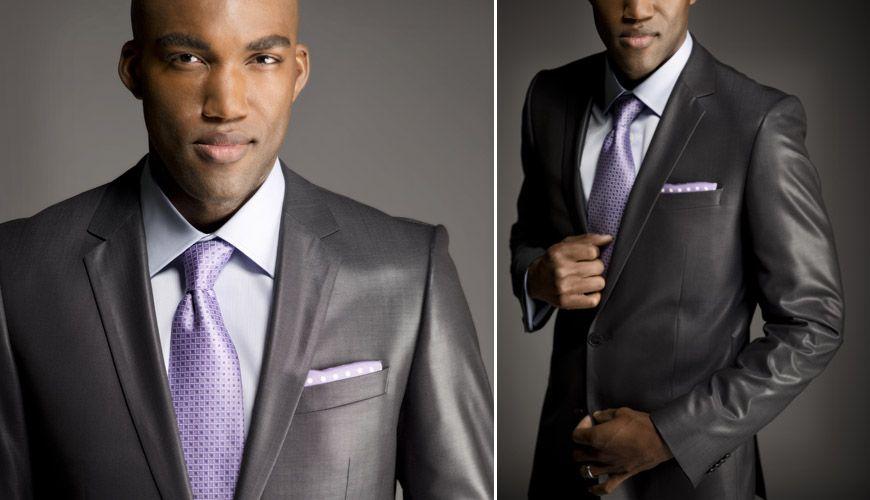 1000  images about Men Suits on Pinterest | Groomsmen, Lavender
