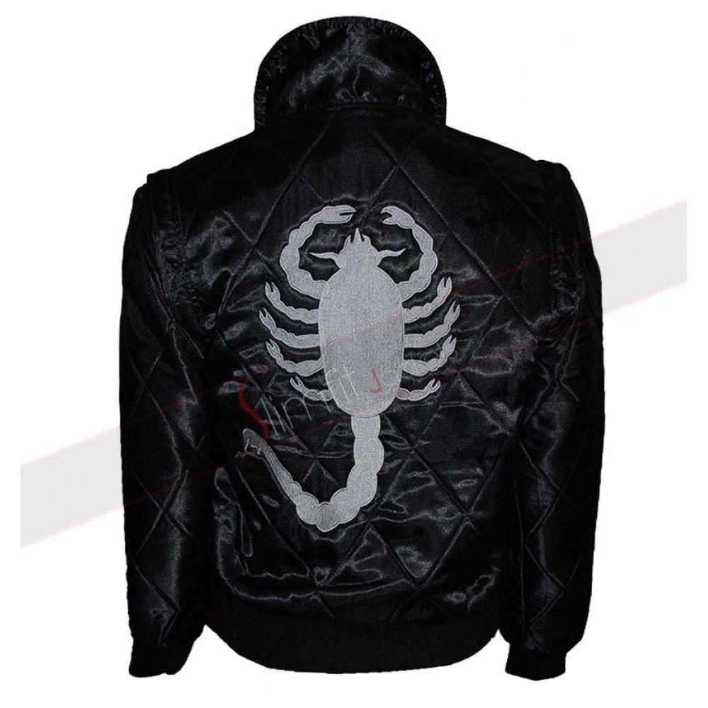 Drive Black Scorpion Ryan Gosling Costume Jacket Celebrities Leather Jacket Celebrity Jackets Leather Jackets Women [ 1000 x 1000 Pixel ]