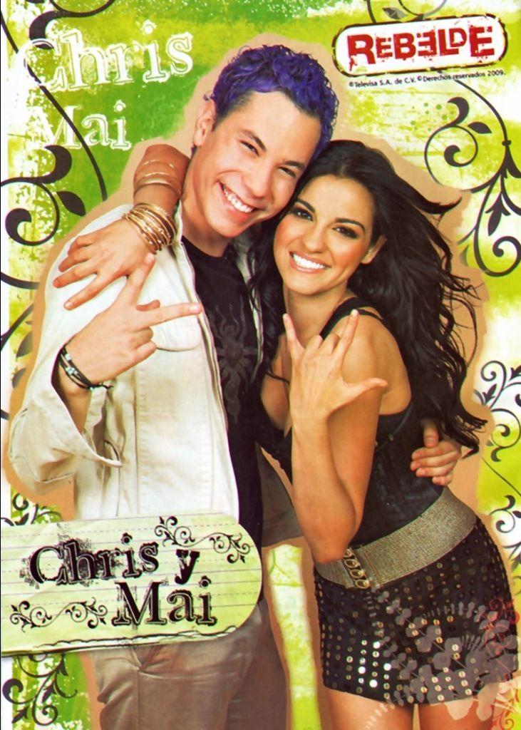 RBD #Christian #MaitePerroni #ChrisyMai
