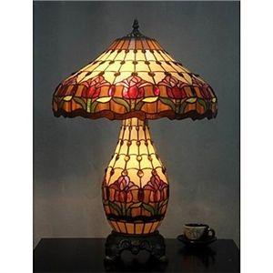 tiffany tischleuchte mit 3 leuchten galvanische oberfl che tiffany lampe pinterest. Black Bedroom Furniture Sets. Home Design Ideas