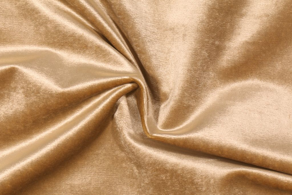 Designer Fabric  Gold Brown Woven Upholstery Weight