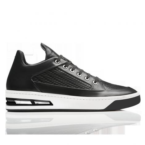 SanDiego Mediados la zapatilla de Tecflex deporte de cuero liso Tecflex de 44a607