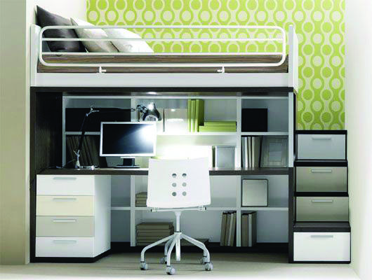 Best Pretty Loft Bed With Desk Ebay Exclusive On Home Decor Gallery 400 x 300