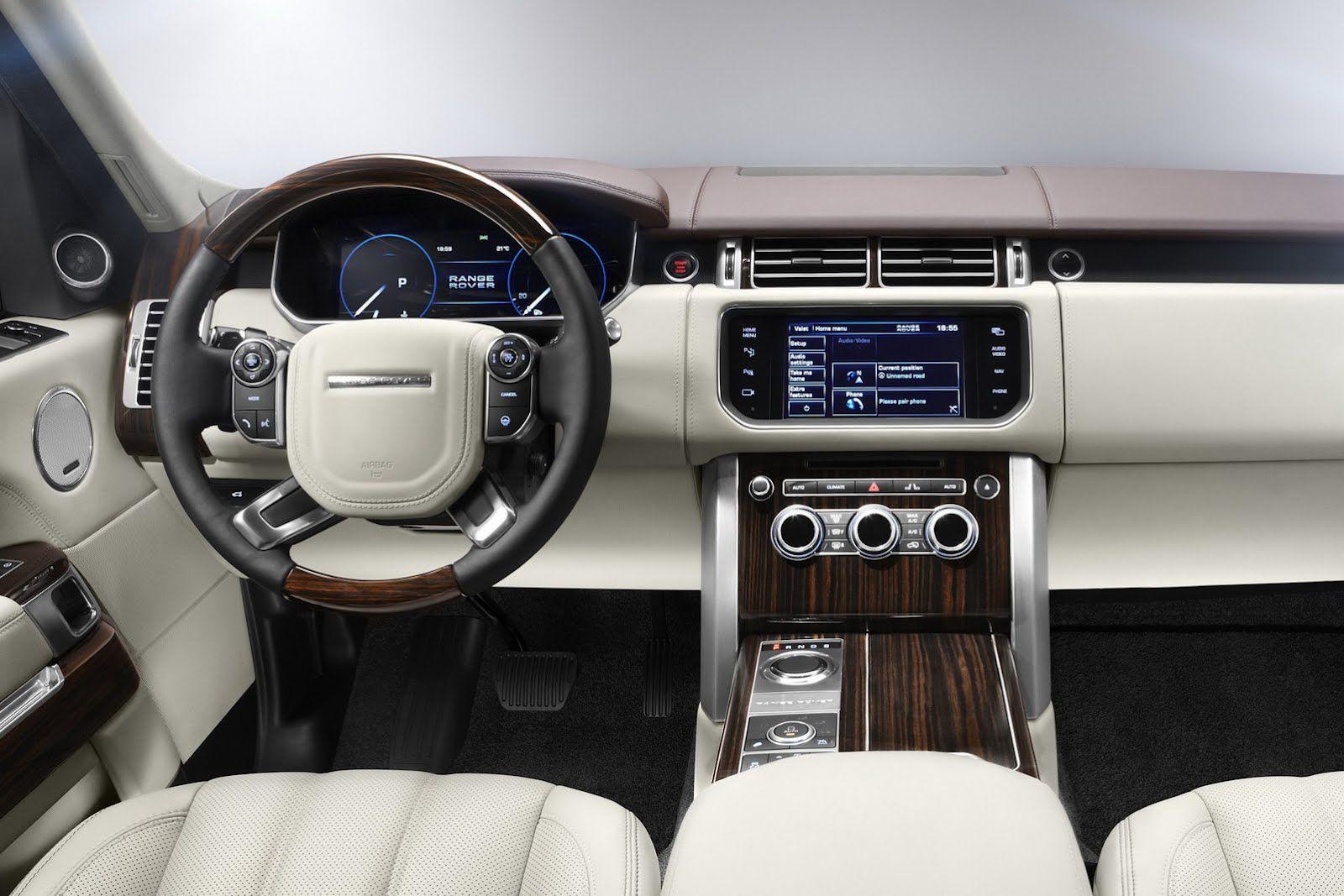 New Range Rover Range Rover Evoque Interior Range Rover