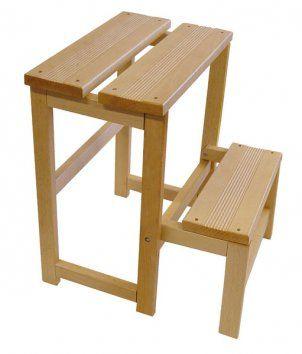Valdomo step botellero en 2019 muebles articulos de for Escalera de madera al aire libre precio