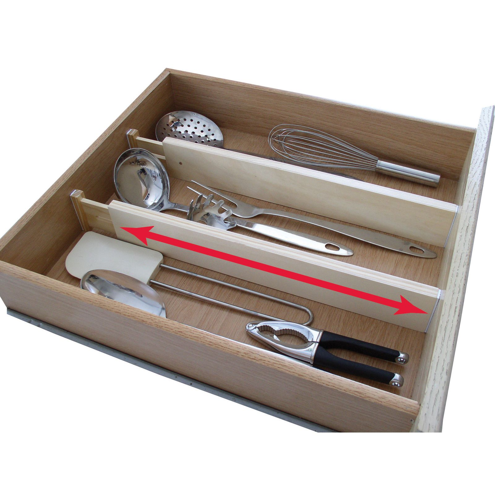 Axis Expandable Kitchen Drawer Divider Set Of Home Kitchen