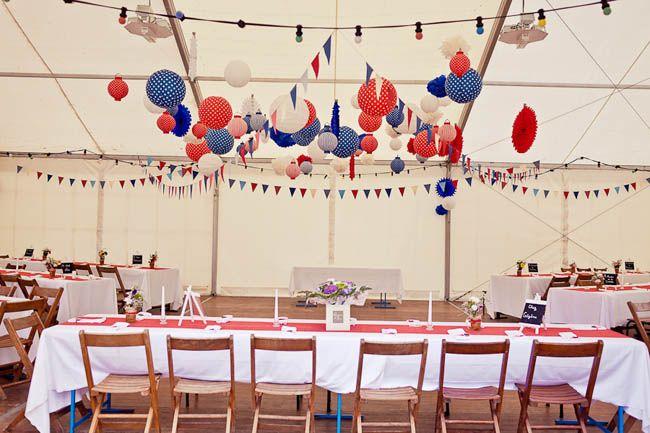 Mariage pascale et jehan au bal de l 39 amour guingue - Deco style guinguette ...