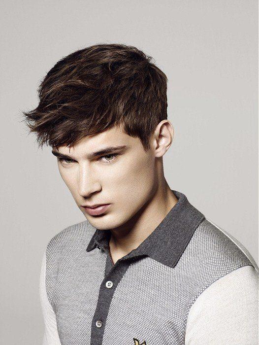 Nuevos cortes de pelo y peinados masculinos 2016 Peinado con - Peinados Modernos Para Hombres