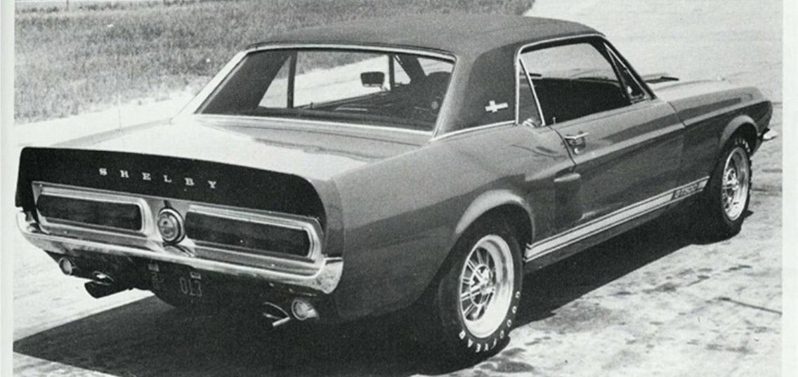 Shelby Coupe 67 With Images Mustang California Special