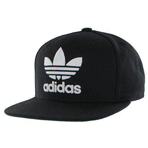 4844bdaac4b adidas Men s originals snapback flatbrim cap