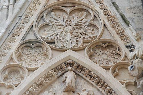 Floral detail, Reims