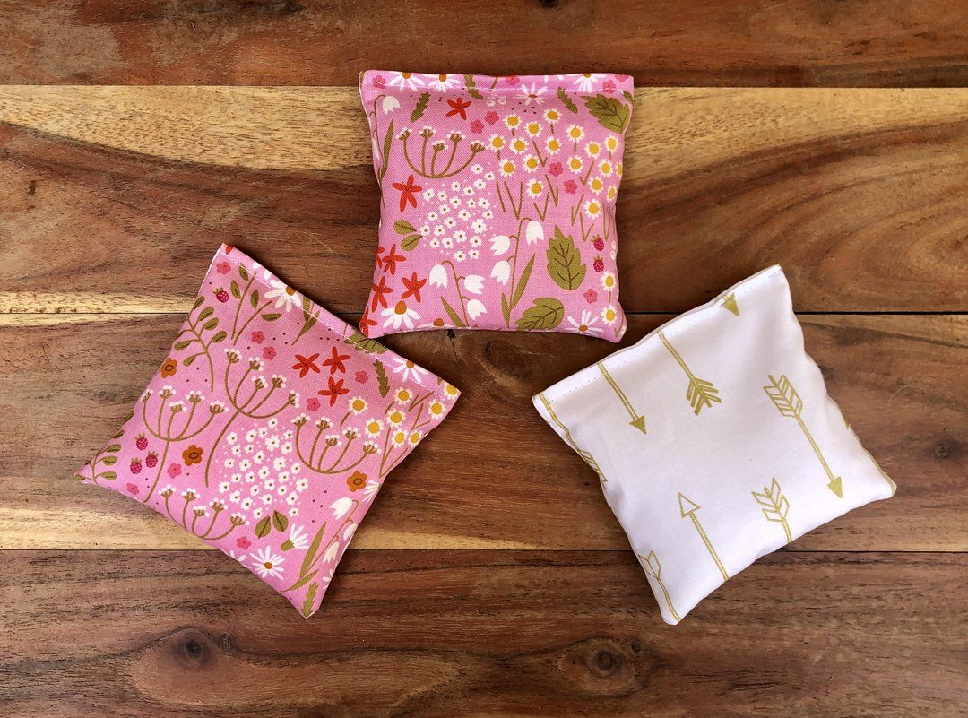 (1) Set of 3 Scented Sachets – Whiffy Bean Bags