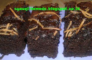 Cara Membuat Brownies Kukus Coklat Yang Lembut   Coklat ...