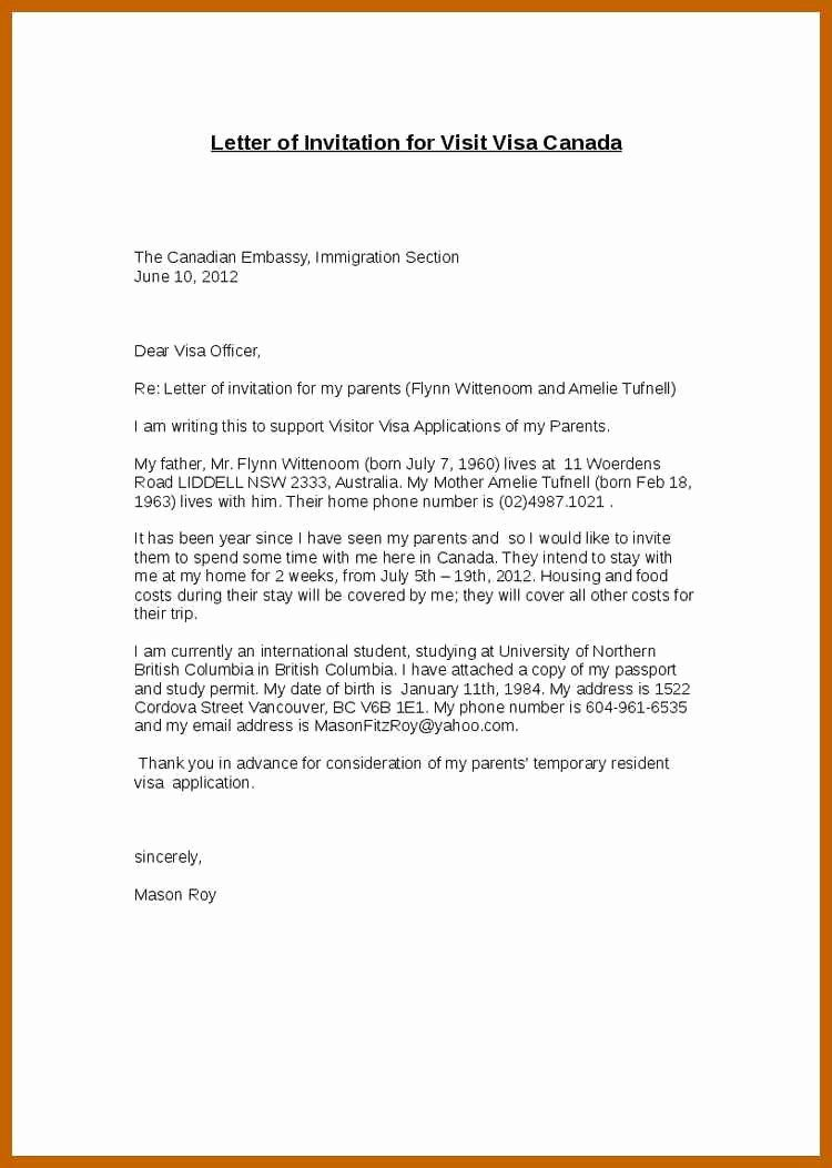 supporting letter for immigration